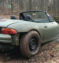 good afternoon i have discovered the best bmw z3 it is this nasty off road beast [ 1600 x 900 Pixel ]