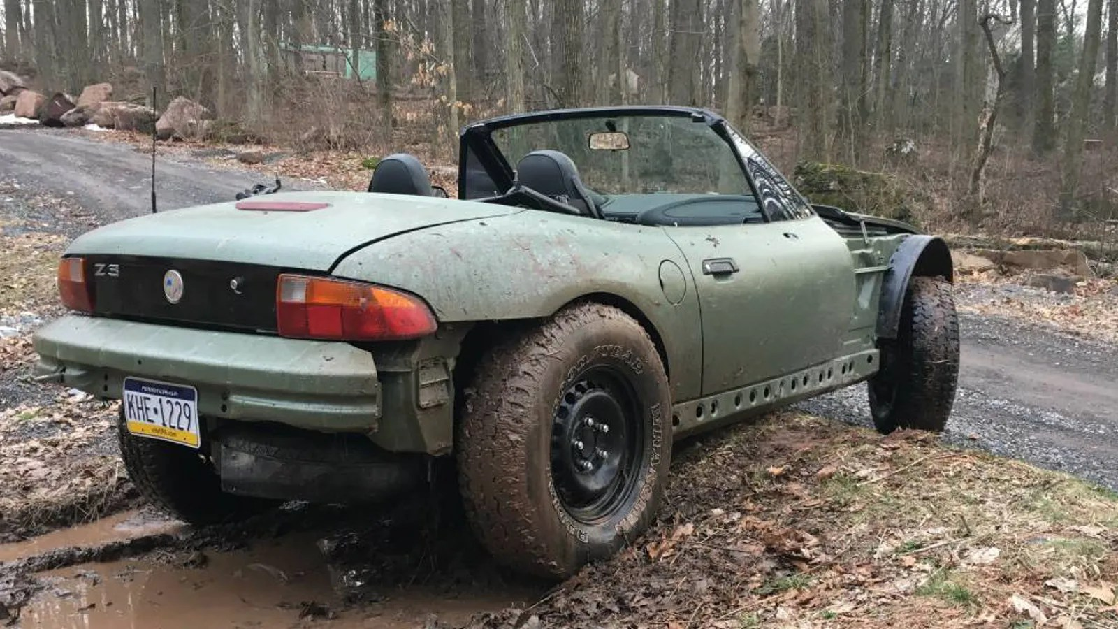 hight resolution of good afternoon i have discovered the best bmw z3 it is this nasty off road beast