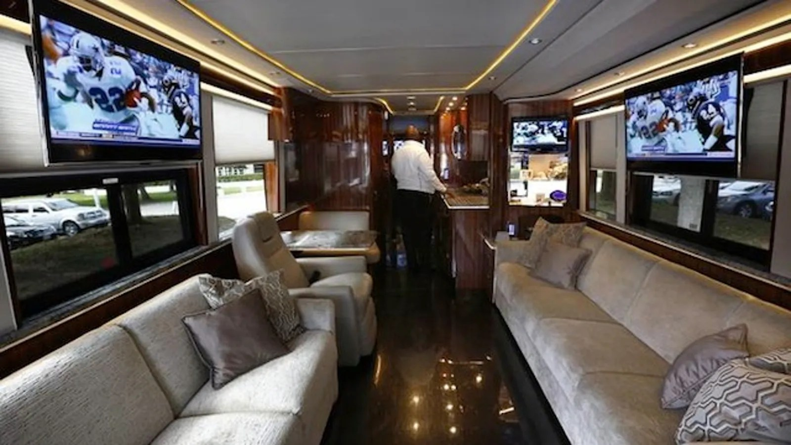 Meet The Cowboys New 2 Million Luxury Bus Named The