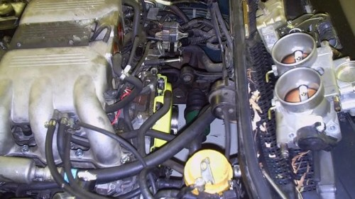 small resolution of engine wiring harnes for subaru svx