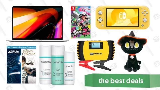 "ryk7qxiy6wcya2w7ifkx Tuesday's Best Deals: Switch Lite, MacBook Pro 16"", Avatar/Korra Blu-ray Set, Proactiv 3-Step System, Gooloo Jump Starter, and More | Gizmodo"
