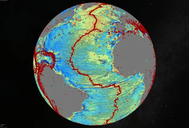 Explore The World's Most Detailed Map Of The Seafloor, Released Today