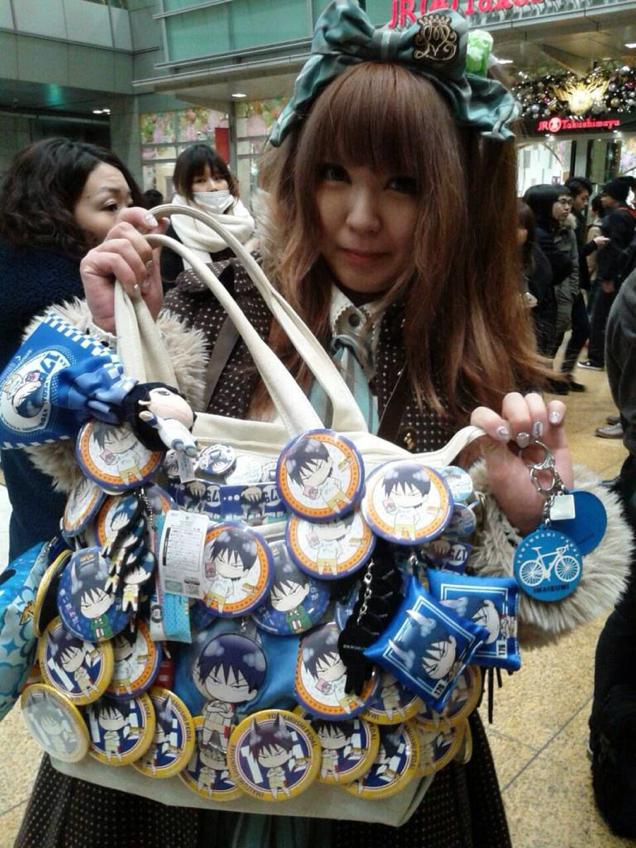 """Latest Trend for Female Geeks? """"Painful"""" Anime Bags."""