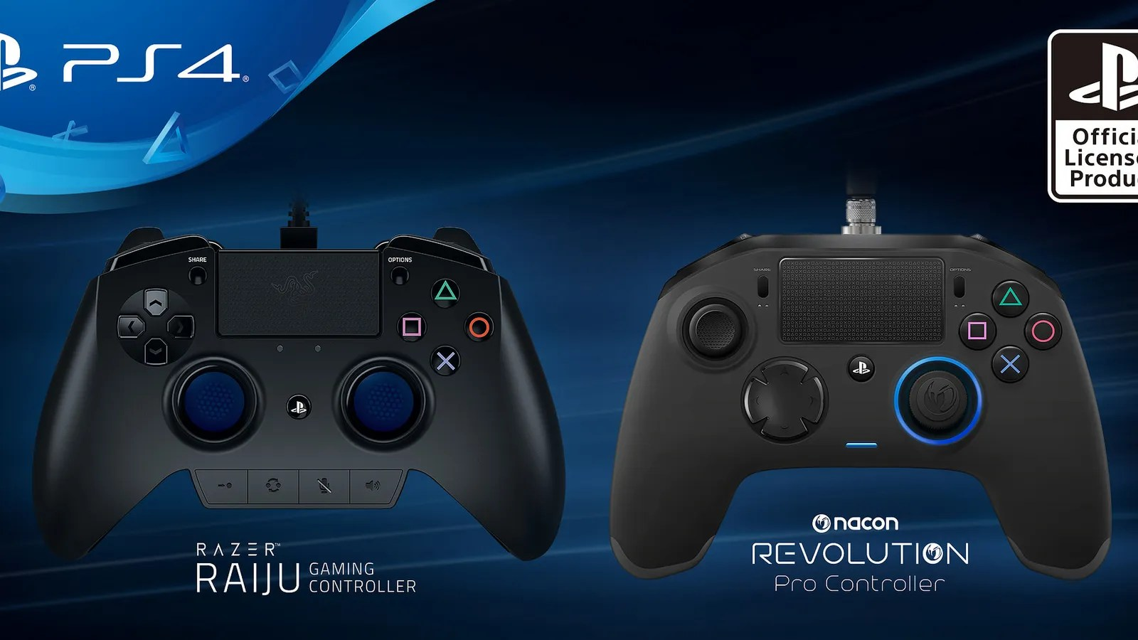 Sony Announces New Third Party PS4 Controllers