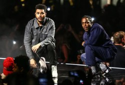 """Kendrick Lamar and The Weeknd launch newBlack Panthermonitor, """"Pray For Me"""""""