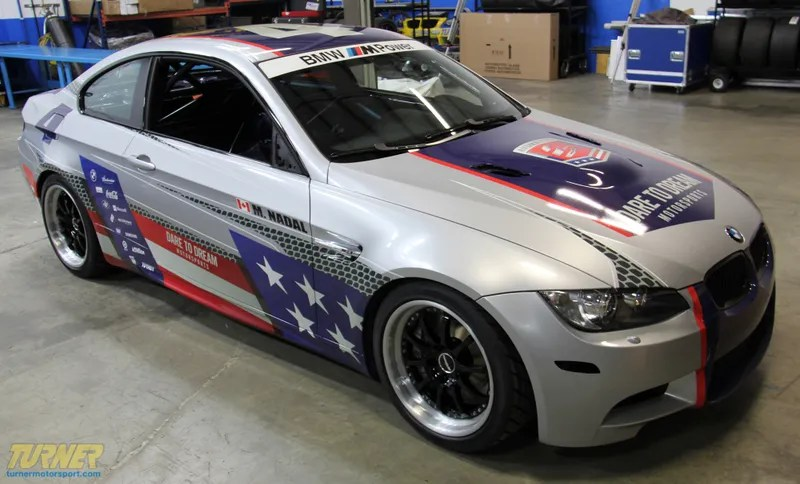 Interlagos To Red, White And Blue Bmw E92 M3 Race Car