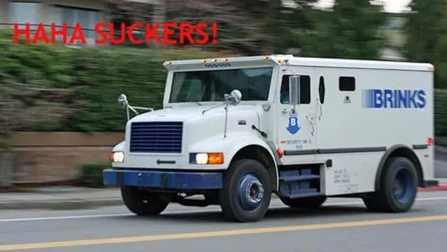 Armored Car Robbed by Armored Car Driver