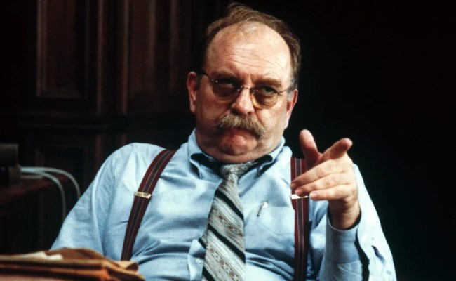 Rest Easy Folks Wilford Brimley Is Still On The Lookout