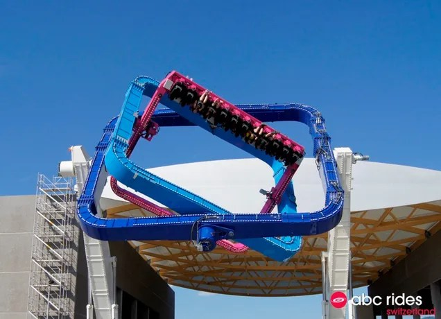 Some Evil Genius Built a Giant Ride That Twists In Every Direction