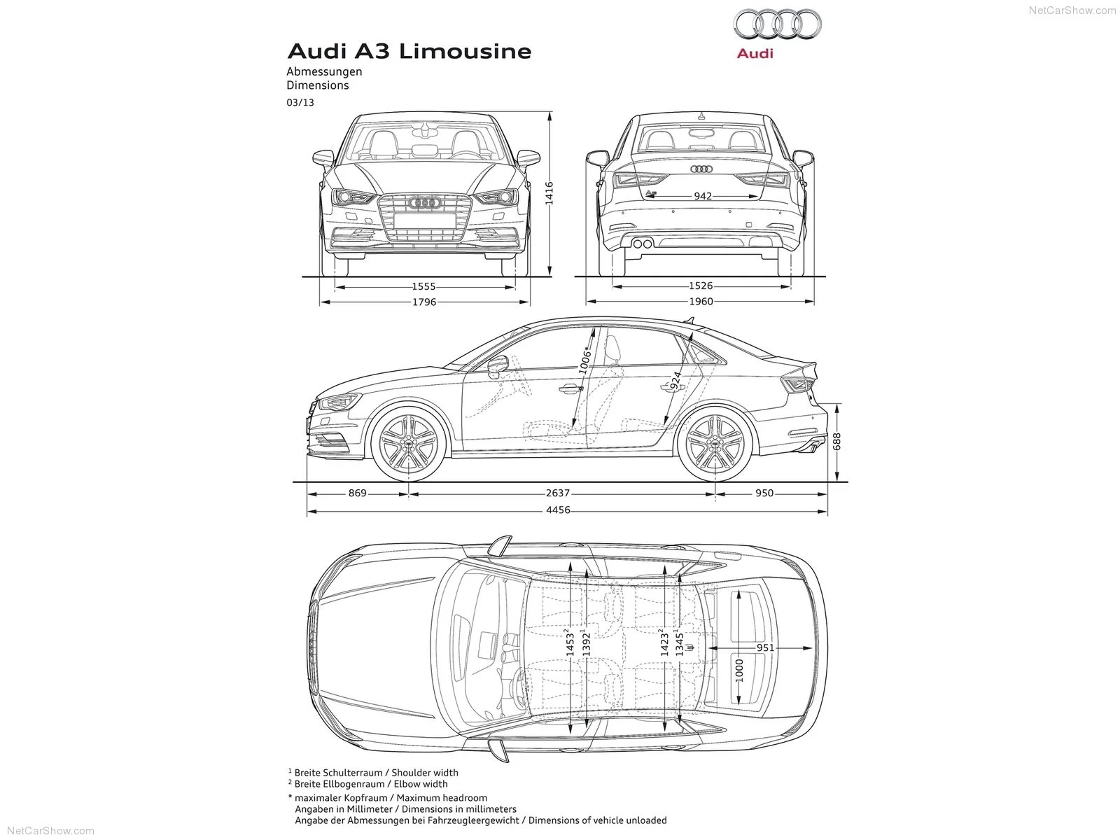 The Audi A3 Is The Worlds Cheapest Limo
