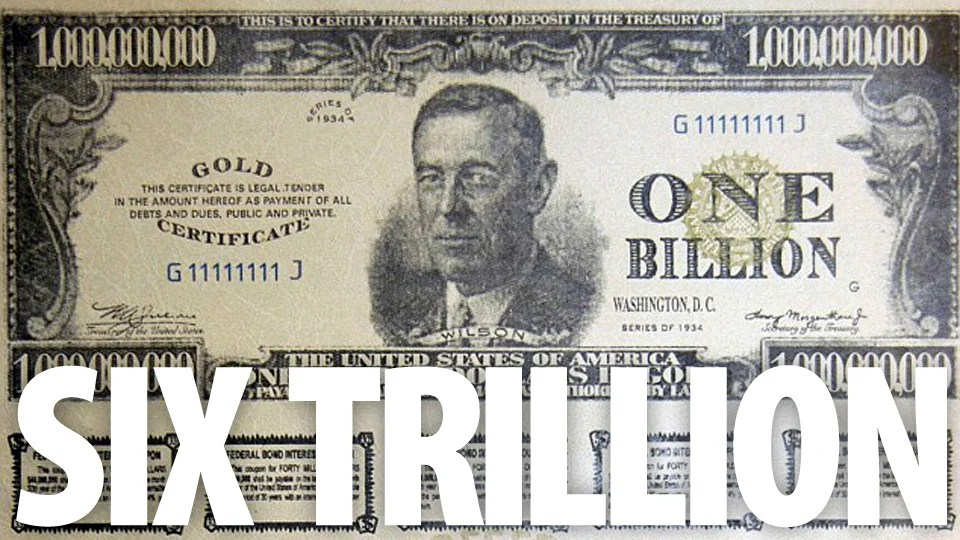 Criminal Network Wanted To Use These $1 Billion Bills To