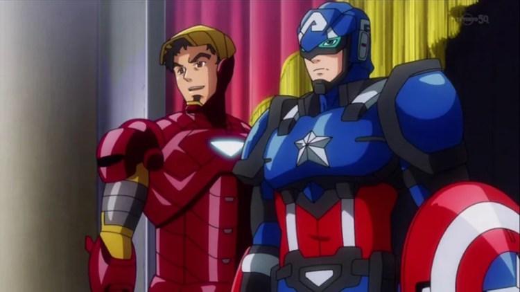 Image result for anime marvel