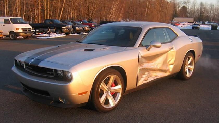 Image result for slightly damaged car