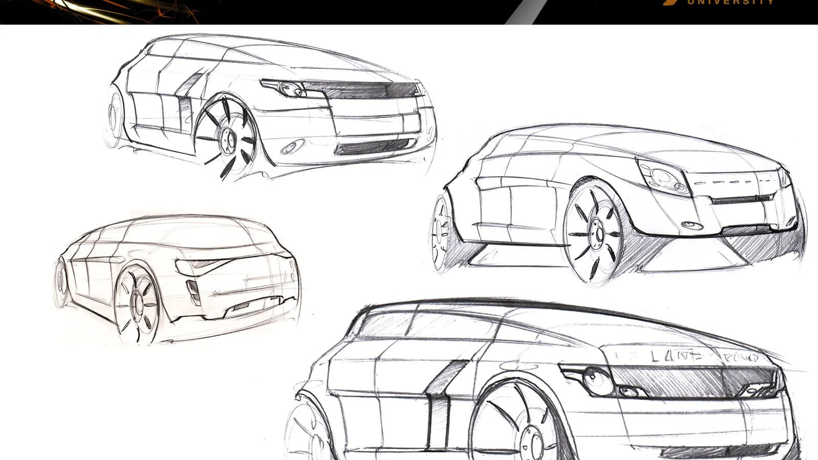 Did I design the Range Rover Evoque?