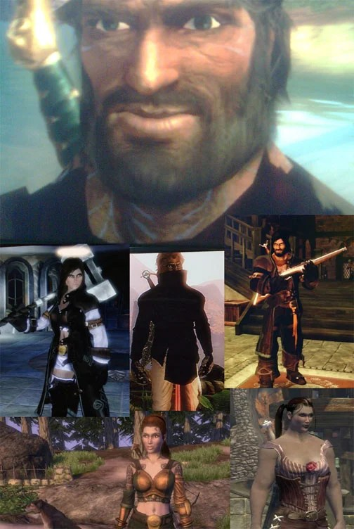 Fable II Heroes In All Shapes And Sizes