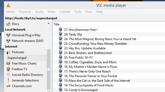 Funciones ocultas del  VLC que tal vez no conocias