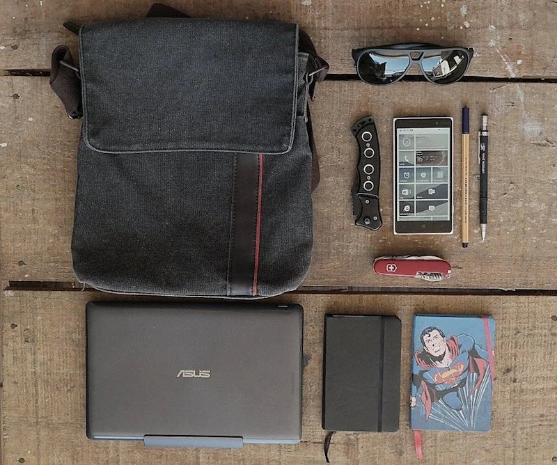The Simple Briefcase Bag