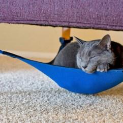 Cat Hammock Under Chair Leg Glides Keeps Fluffy Off The Damn Furniture