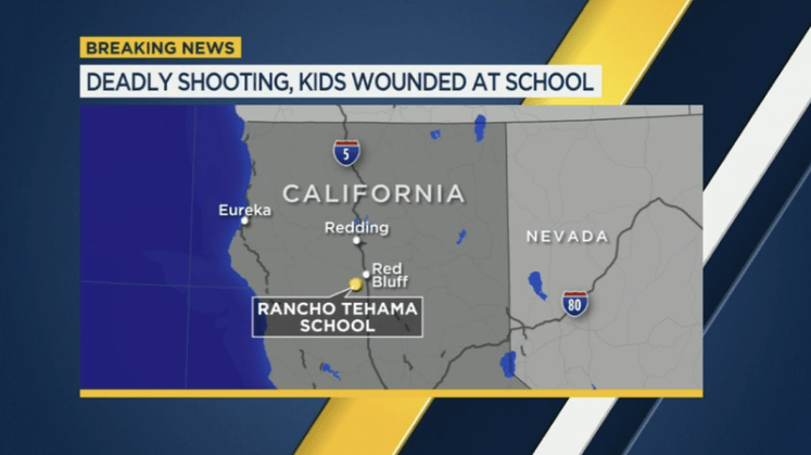 Image result for 5 dead in Northern California shootings that ended at elementary school
