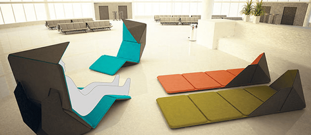 This Pop-Up Chair Would Make Long Layovers So Much More Tolerable