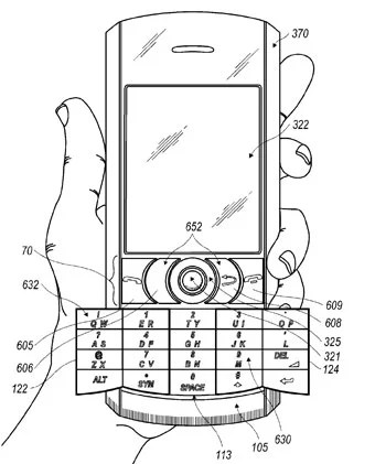 RIM's Foldout Keyboard Patent Sorta Misses the Point
