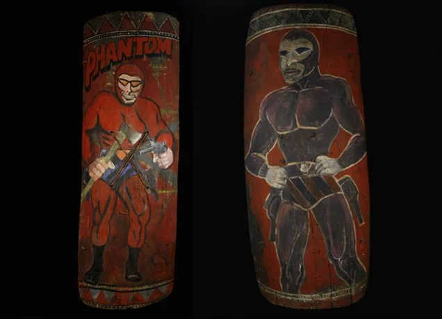 Why Does This Comic Book Hero Appear On So Many New Guinea War Shields?