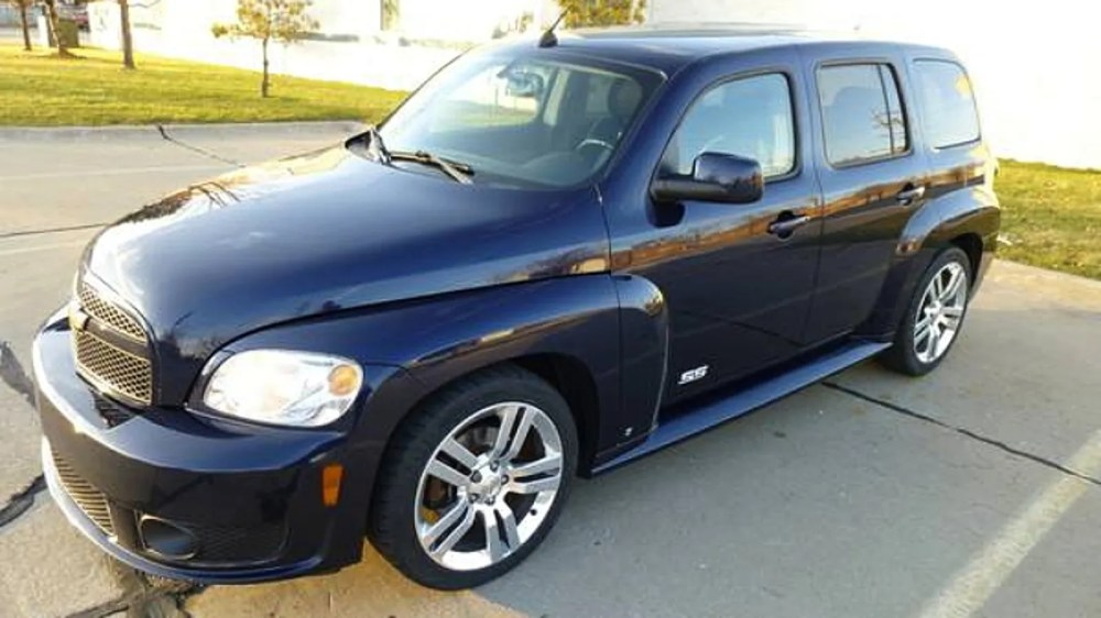 medium resolution of for 7 900 this 2008 chevy hhr ss could be your retro rocket no really
