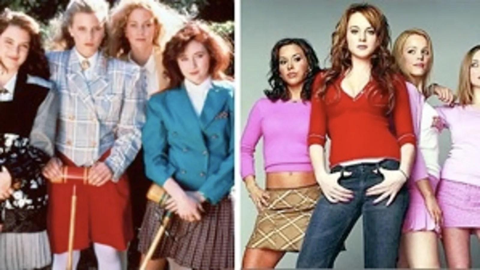 Mean Girls Musical Wallpaper Jezebel Faceoff The Heathers Vs The Plastics