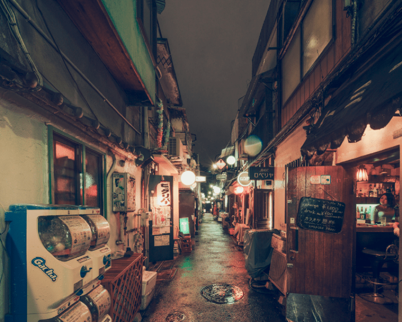 Tokyo Looks Haunting at Night