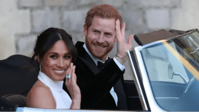 Illustration for article titled Prince Harry and Meghan Markle May Be Moving to Africa?