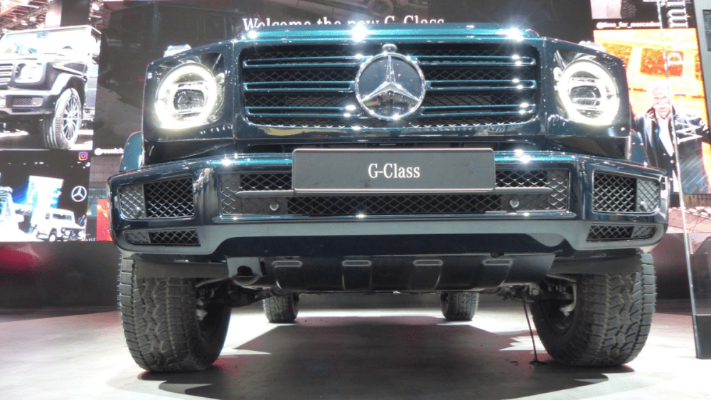 medium resolution of i crawled under the 2019 mercedes g class with one of mercedes head engineers