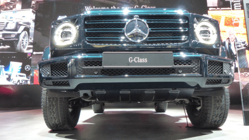 small resolution of i crawled under the 2019 mercedes g class with one of mercedes head engineers