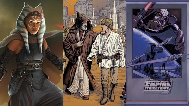 720c9f36a8b2827d8d03ce044b03b60c There's So Much New Star Wars Art on May 4, May Your Wallet Be With You | Gizmodo