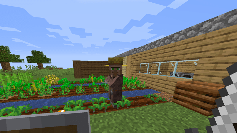 minecraft villagers are out