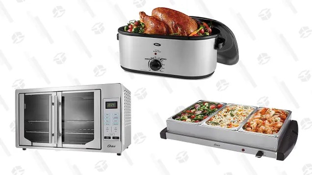 gmdr7kv2m8kink9ldtca Don't Give a Second Thought to Oven Space This Thanksgiving With Almost 50% Off Select Oster Appliances | Gizmodo