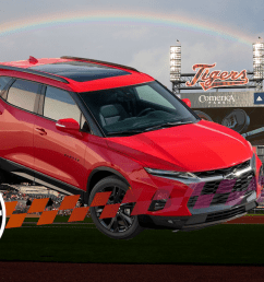 mexico made chevrolet blazer called slap in the face at detroit ballpark [ 1600 x 900 Pixel ]