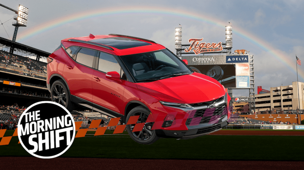 medium resolution of mexico made chevrolet blazer called slap in the face at detroit ballpark