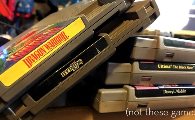 Gamestop Now Accepting Trade Ins Of Select Retro Games And
