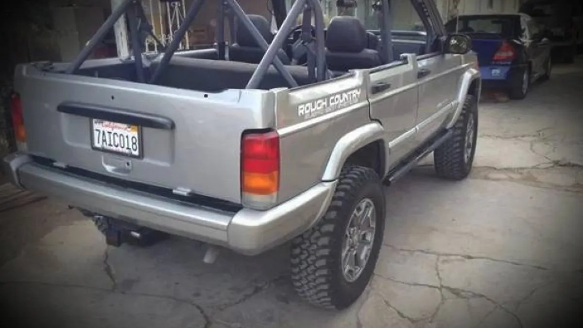 hight resolution of jeep cherokee chop top
