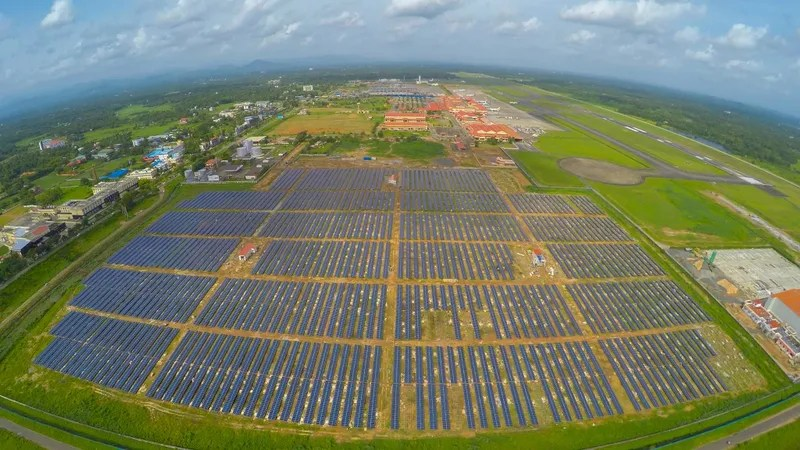 Here's the First Airport to Run on 100% Solar Power