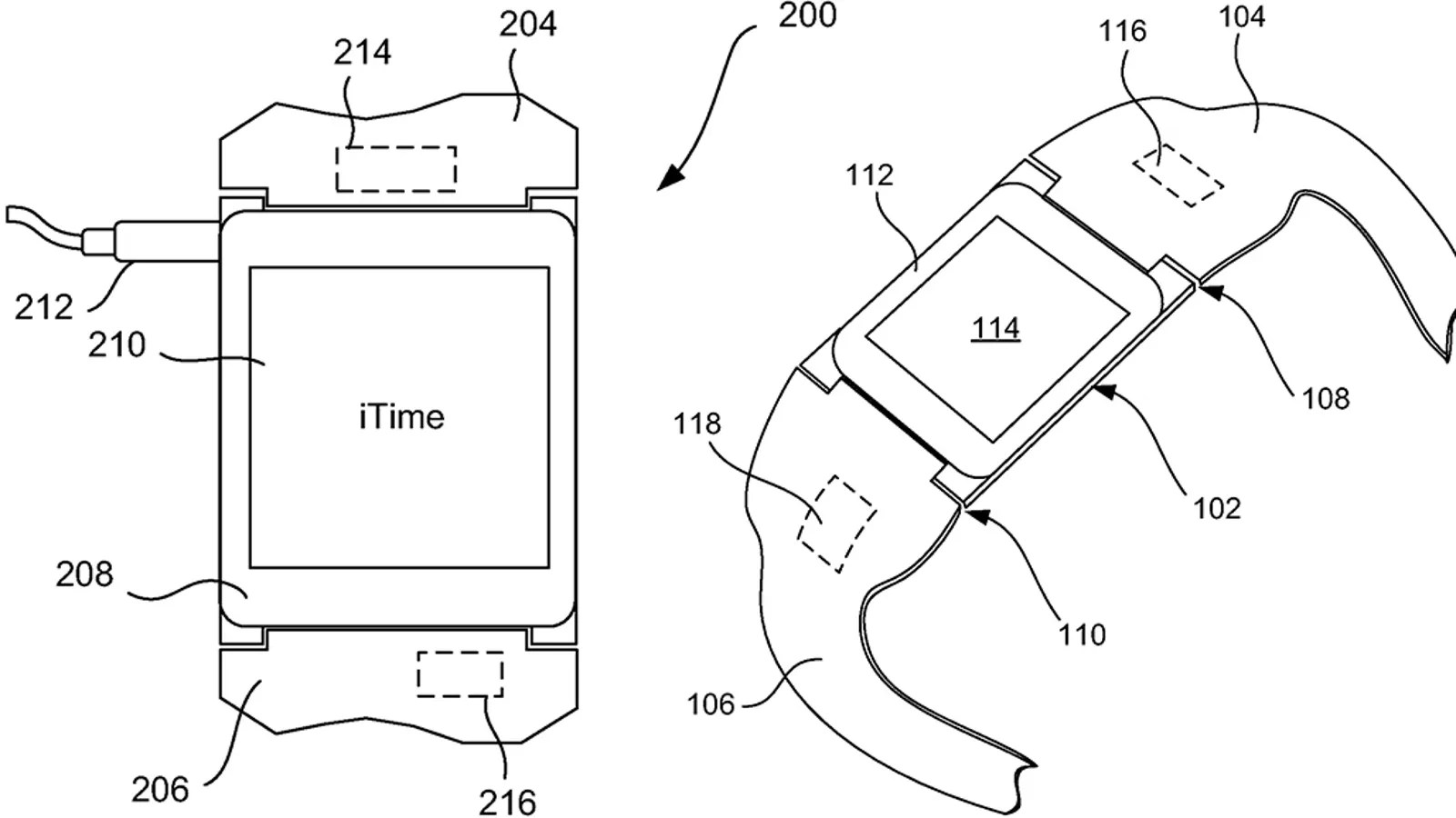 iTime: Smartwatch Patent Shows Apple's Broad Ambitions