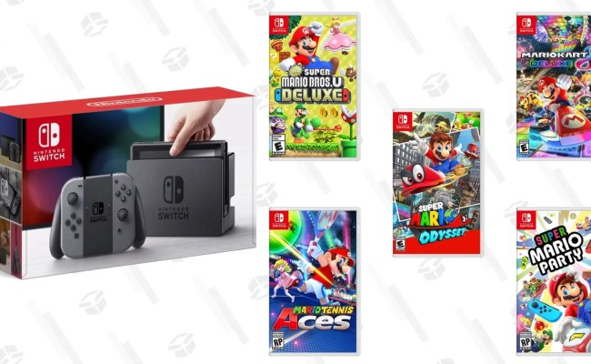 Celebrate Mar10 Day With A Switch Bundle Deal And 40