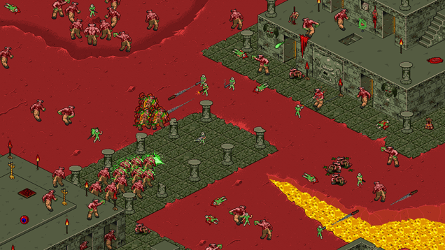 isometric doom