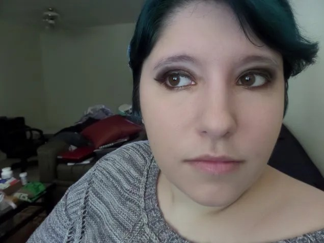 American Kestrel Inspired Makeup Tutorial