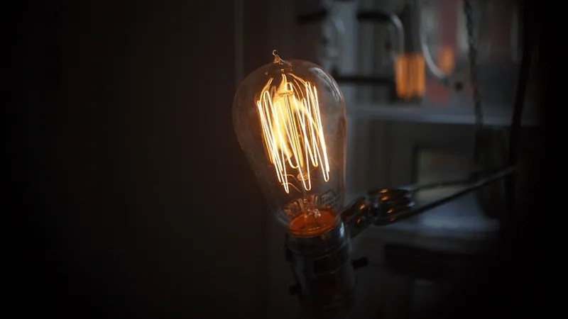 Edison Light Bulb Still Burning