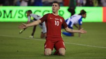 United States Men's National Soccer Team Christian Pulisic