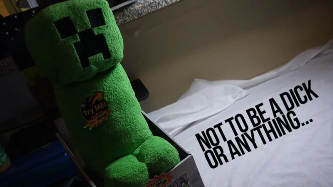 Ilration For Article Led Okay Maybe The Minecraft Creeper Plush Does Look A Little Nsfw
