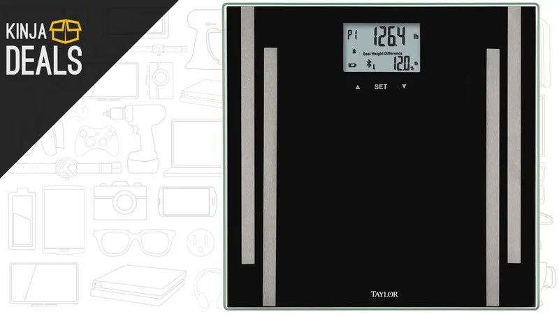 Track Your Vitals With This $30 Bluetooth Smart Scale