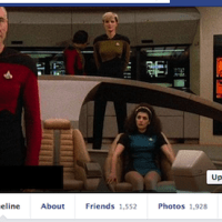 This Girl Who Splices Herself Into Facebook Cover Photos of Movies & TV Shows is AWESOME!