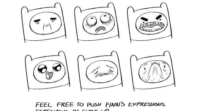 Pendleton Ward's 16-Page Manual on How to Draw Finn and